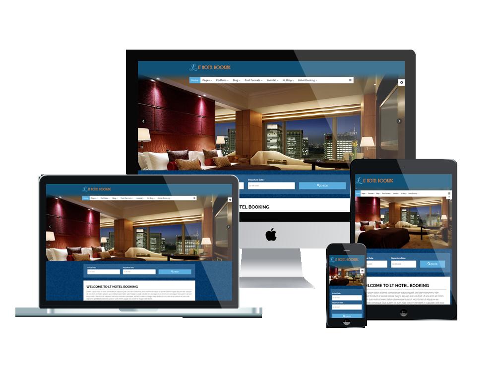 Conception site pour hôtel et restaurant en Algérie